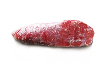 科尔沁牛业小黄果条牛肉背面