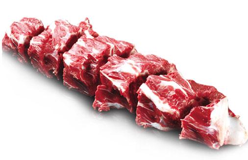 科尔沁牛业生鲜冷冻牛肉-牛脖骨段