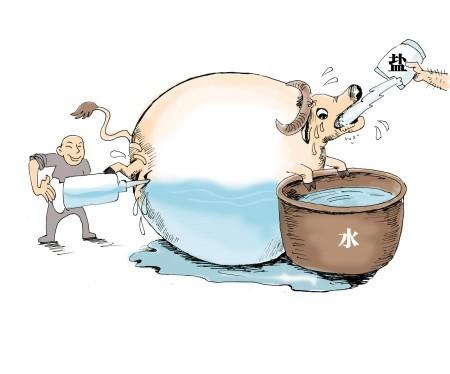 科尔沁牛业新闻资讯 业内爆料一头牛注水后增重30%