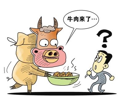 """揭露""""假牛肉""""市场真相-科尔沁牛业"""