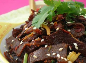 牛肉干电饭锅新吃法-科尔沁牛业